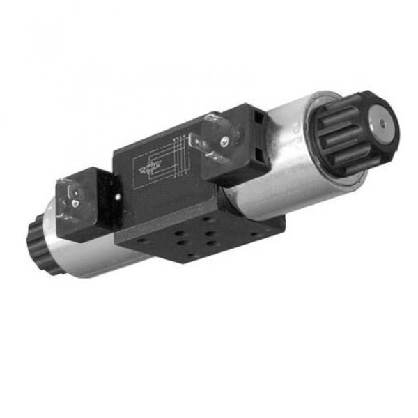 Hyd Monoblock Valve 2 Bank 3/8 BSP 40 l/m D/A Cyl Spool 3 Pos 24V DC Solenoid Ct