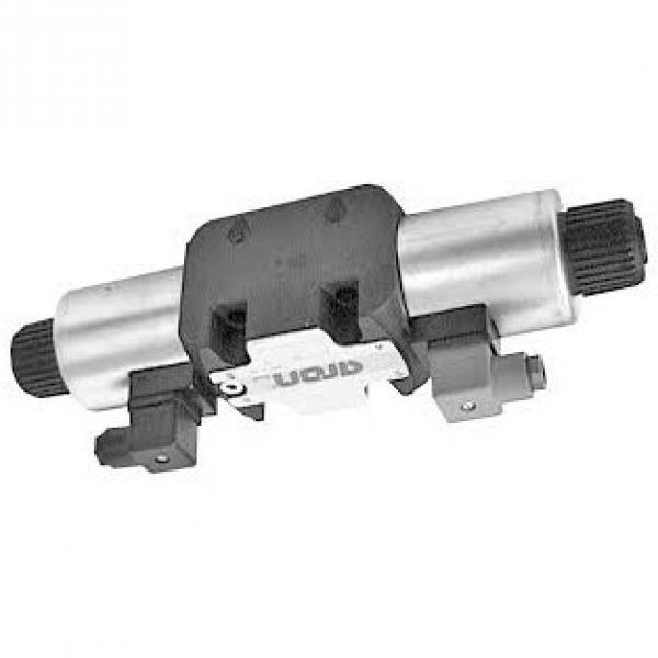 Hyd Monoblock Valve 1 Bank 1/4 BSP 20 l/m D/A Motor Spool, 12V DC Solenoid Cntl