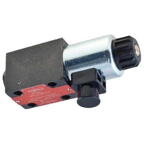 Hyd Monoblock Valve 3 Bank 1/4 BSP 20 l/m D/A Motor Spool, 24V DC Solenoid Cntl