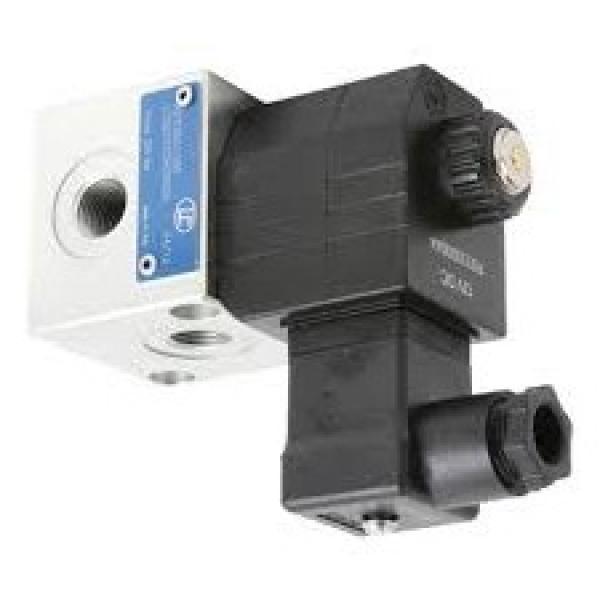 Hyd Monoblock Valve 2 Bank 1/4 BSP 20 l/m D/A Motor Spool, 24V DC Solenoid Cntl