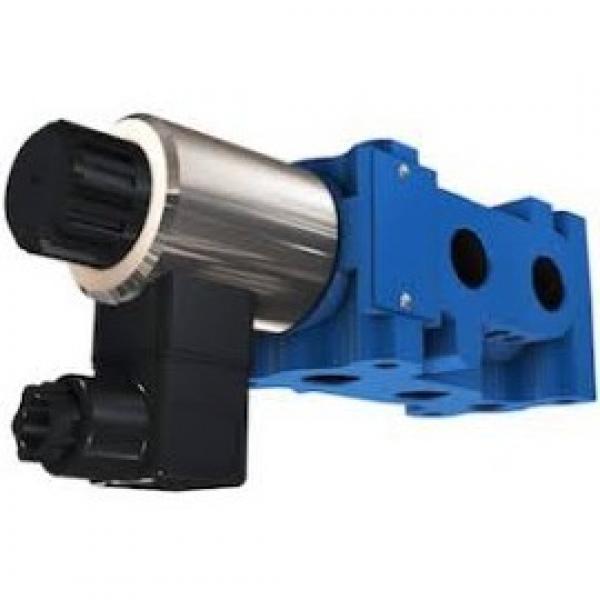 Hyd Monoblock Valve 3 Bank 1/4 BSP 20 l/m D/A Cylinder Spool, 24V DC Solenoid Cn