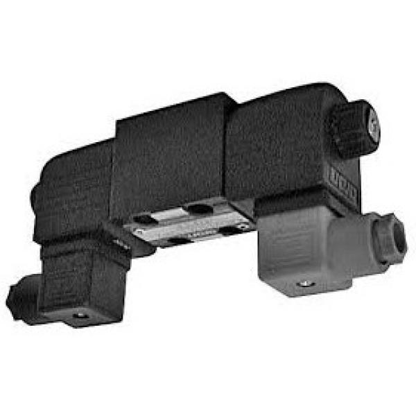 Sun Hydraulics Valve w/ Delta Power Solenoid Coil, 506923, DHC 12