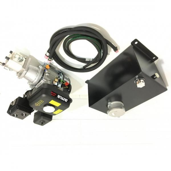 Spaccalegna GeoTech SPHE 6 orizzontale con motore elettrico - Potenza di 6 T