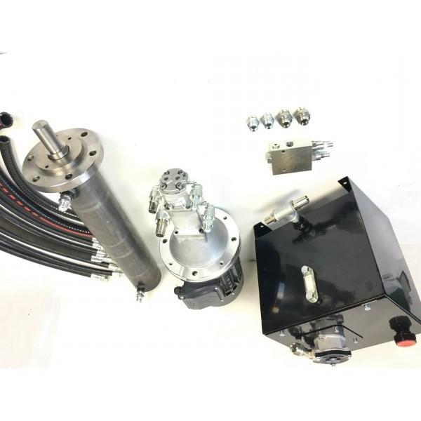 Spaccalegna orizzontale AMA 6T GNU con motore elettrico 2200W - Spinta 6 t