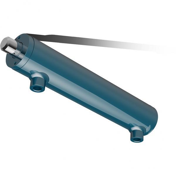 CILINDRO idraulico PISTONE doppio effetto IDRAULICO 540x50x30mm corsa 400